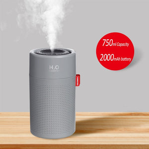 Portbale Aroma Diffuser /Air Humidifier - 750ML