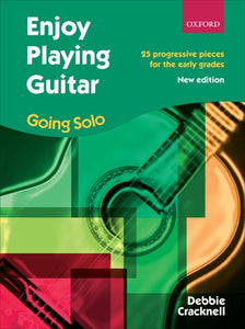 Cover art for Enjoy Playing Guitar: Going Solo - Debbie Cracknell