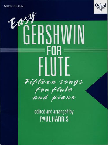 Cover art for Easy Gershwin for Saxophone - George Gershwin: Sheet Music