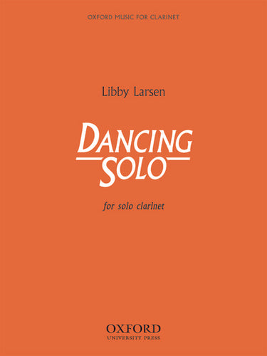 Cover art for Dancing Solo - Libby Larsen, Paperback book
