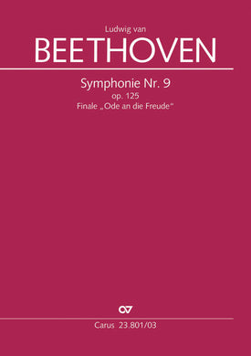 Cover art for 9th Symphony. Finale (Choral Symphony) - Ludwig van Beethoven