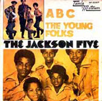 Load image into Gallery viewer, This is the cover art for the single ABC by the artist The Jackson 5. The cover art copyright is believed to belong to the label, Motown /, or the graphic artist(s).ABC - The Jackson 5: Sheet Music | Axtell Music