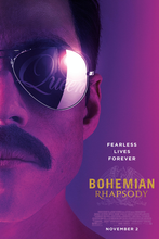 Load image into Gallery viewer, This is a poster for Bohemian Rhapsody. The poster art copyright is believed to belong to the distributor of the item promoted, the publisher of the item promoted or the graphic artist.Bohemian Rhapsody: Soundtrack Sheet Music by Queen | Axtell Music