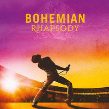 Load image into Gallery viewer, This is the cover art for Bohemian Rhapsody: The Original Soundtrack by the artist Queen. The cover art copyright is believed to belong to the label, Virgin EMI Records (international), Hollywood Records (US/Canada), or the graphic artist(s). Bohemian Rhapsody: Soundtrack Sheet Music by Queen | Axtell Music