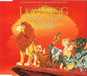 This is the cover art for the single Circle of Life by the artist Elton John. The cover art copyright is believed to belong to the label, Mercury Records (UK/Europe), or the graphic artist(s).  Circle Of Life - The Lion King | Axtell Music