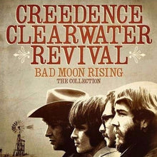 Load image into Gallery viewer, Cover artwork for Bad Moon Rising - Creedence Clearwater Revival (CCR) the collection. Download and print Bad Moon Rising by Creedence Clearwater Revival (CCR). Sheet Music for Piano, Guitar and Voice.