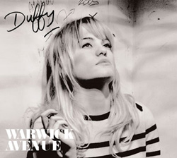This is the cover art for Warwick Avenue by the artist Duffy. The cover art copyright is believed to belong to the label, Universal, or the graphic artist(s).  Warwick Avenue - Duffy: Piano/Voice/Guitar Sheet Music | Axtell Music