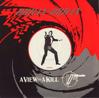 A View to a Kill- Duran Duran A view to a kill cover art. James Bond Duran Duran | Axtell Music