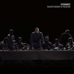 This is the cover art for the album Gang Signs & Prayer by the artist Stormzy. The cover art copyright is believed to belong to the label, #Merky Records, or the graphic artist(s). Blinded by Your Grace, Pt. 2 - Stormzy Feat. MNEK: Piano/Voice/Guitar Sheet Music | Axtell Music