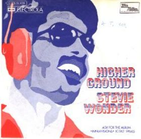 Single Cover for the Stevie Wonder single Higher Ground. Higher Ground by Stevie Wonder Sheet Music for Piano/Voice/Guitar.