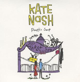 This is the cover art for the single Pumpkin Soup by the artist Kate Nash. The cover art copyright is believed to belong to the label, Fiction, or the graphic artist(s). Pumpkin Soup - Kate Nash: Piano/Voice/Guitar Sheet Music | Axtell Music