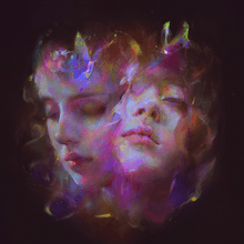 Load image into Gallery viewer, This is the cover art for I'm All Ears by the artist Let's Eat Grandma. The cover art copyright is believed to belong to the label, Transgressive, or the graphic artist(s). I Will Be Waiting - Let's Eat Grandma: Piano/Voice/Guitar Sheet Music
