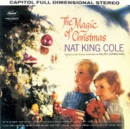 Load image into Gallery viewer, This is the cover art for The Magic of Christmas (Nat King Cole album) by the artist Nat King Cole. The cover art copyright is believed to belong to the label, Capitol, or the graphic artist(s).  Download and print The Christmas Song - Chestnuts Roasting On An Open Fire by Mel Tormé And Robert Wells. Sheet Music for Piano/Voice/Guitar.