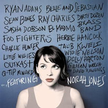Load image into Gallery viewer, This is the Front Cover for the Album ...Featuring by the artist Norah Jones. The cover art copyright is believed to belong to the label, Blue Note Records, or the graphic artist(s). Norah Jones is standing at the wall with names of the artists who featured in the album. Dear John - Norah Jones: Piano/Voice/Guitar Sheet Music | Axtell Music