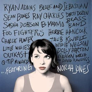 This is the Front Cover for the Album ...Featuring by the artist Norah Jones. The cover art copyright is believed to belong to the label, Blue Note Records, or the graphic artist(s). Norah Jones is standing at the wall with names of the artists who featured in the album. Dear John - Norah Jones: Piano/Voice/Guitar Sheet Music | Axtell Music