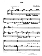 Load image into Gallery viewer, 1990 - The Temptations: Sheet Music | Axtell Music  Edit alt text