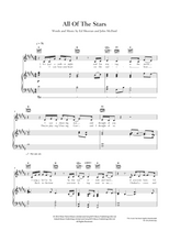 Load image into Gallery viewer, All Of The Stars: 'The Fault in Our Stars' - Ed Sheeran: Sheet Music  Edit alt text