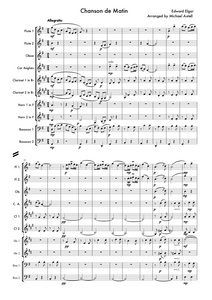Chanson De Matin Woodwind Sheet Music | Axtell Music  Edit alt text