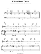 Load image into Gallery viewer, If You Were There - The Isley Brothers: Piano/Voice/Guitar Sheet Music | Axtell Music