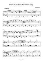 Load image into Gallery viewer, In the Hall of the Mountain King - Edward Grieg: Piano Sheet Music  Edit alt text