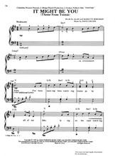 Load image into Gallery viewer, Might Be You (Theme from 'Tootsie') Sheet Music for Piano/Voice/Guitar.