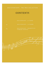 Load image into Gallery viewer,  Content page for  Jeux d'enfants suite: The Trio Collection - Georges Bizet