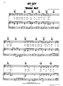 My Guy from 'Sister Act', Sheet Music for Piano/Voice/Guitar