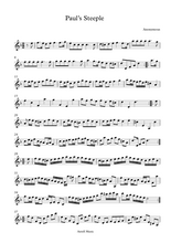 Load image into Gallery viewer, Paul's Steeple Violin sheet music
