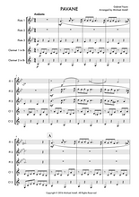 Load image into Gallery viewer, Gabriel Faure - Pavane: Woodwind Sheet Music | Axtell Music