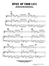 Load image into Gallery viewer, Spice Up Your Life - Spiceworld:  Sheet Music for Piano/Voice/Guitar