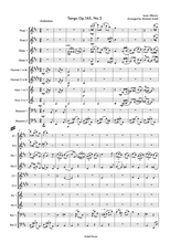Load image into Gallery viewer, Woodwind 10 piece Decet arrangement for Flute, Oboe, Clarinet, Horns and Bassoon. Full score and Instrumental parts included.