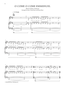 Download and print O Come O Come Emmanuel by Enya: Christmas Sheet Music. Sheet Music for Piano/Voice/Guitar.