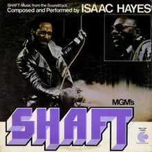 Load image into Gallery viewer, This is the cover art for the album Shaft by the artist Isaac Hayes. The cover art copyright is believed to belong to Concord Music Group. Theme From 'Shaft' - Isaac Hayes - Sheet Music | Axtell Music