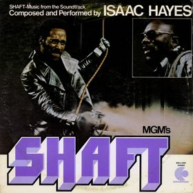 This is the cover art for the album Shaft by the artist Isaac Hayes. The cover art copyright is believed to belong to Concord Music Group. Theme From 'Shaft' - Isaac Hayes - Sheet Music | Axtell Music