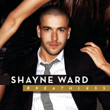 Load image into Gallery viewer, This is the cover art for the album Breathless by the artist Shayne Ward. The cover art copyright is believed to belong to the label, Sony BMG, Syco, or the graphic artist(s). Breathless - Shane Ward: Piano/Voice/Guitar Sheet Music | Axtell Music
