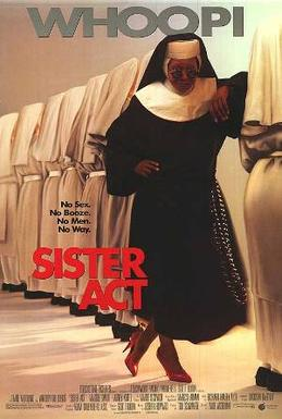 Film poster for the film 'Sister Act.