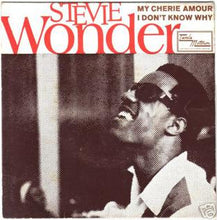 "Load image into Gallery viewer, This is the 7"" single, 1969 for the vinyl album My Cherie Amour (song) by the artist Stevie Wonder. The cover art copyright is believed to belong to the label, Motown, or the graphic artist(s).   My Cherie Amour - Stevie Wonder: Sheet Music 