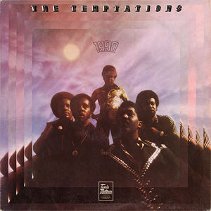 The cover to The Temptations' 1973 LP 1990. The cover art copyright is believed to belong to the label, or the graphic artist(s)