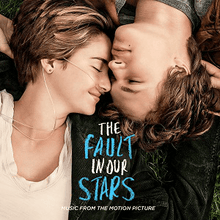 Load image into Gallery viewer, This is the cover art for the soundtrack The Fault in Our Stars (Music from the Motion Picture). The cover art copyright is believed to belong to the label, Atlantic Records, or the graphic artist(s)All Of The Stars: 'The Fault in Our Stars' - Ed Sheeran: Sheet Music