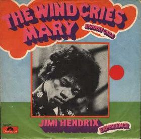 "German cover to Jimi Hendrix' single ""The Wind Cries Mary"" Author or copyright owner	Jimi Hendrix Source (WP:NFCC#4)	http://rateyourmusic.com/release/single/jimi_hendrix/the_wind_cries_mary___highway_chile_f1/"