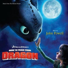 Load image into Gallery viewer, This is the cover art for the the sound track of the movie How to Train Your Dragon by the artist John Powell. The cover art copyright is believed to belong to the label, Dream Works Animation LLC, or the graphic artist(s).  Sticks & Stones (from 'How To Train Your Dragon') | Axtell Music