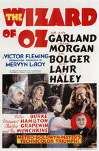 Load image into Gallery viewer, Movie poster to We're Off To See The Wizard - The Wizard Of OZ Sheet Music for Piano/Voice/Guitar.
