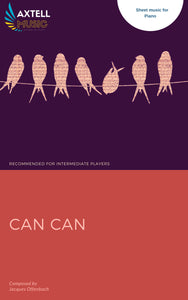 Cover art for Can Can - Jacques Offenbach Sheet Music | Axtell Music
