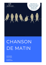 Load image into Gallery viewer, This is the cover art for Chanson De Matin Woodwind Sheet Music | Axtell Music