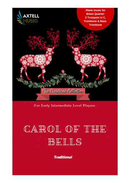 Cover art for Carol Of The Bells: Traditional Christmas Sheet Music | Axtell Music