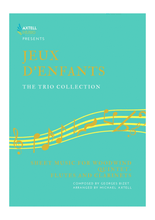 Load image into Gallery viewer, Cover art for Jeux d'enfants Sheet Music: The Trio Collection - Bizet Sheet Music