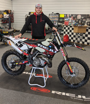 Rieju USA Sponsors First Factory Racer