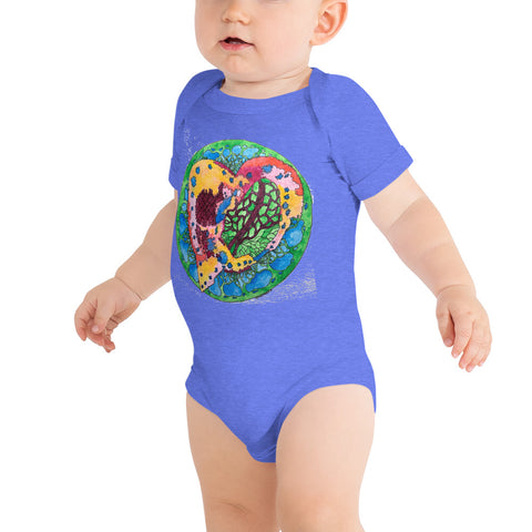 """Sacred Heart"" Baby One Piece"