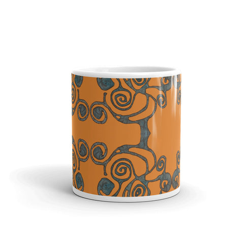 """Orange Tree Pattern"" Mug"