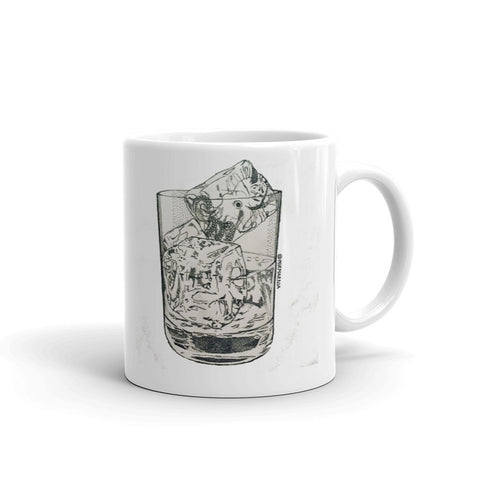 """Octo On The Rocks"" Mug"